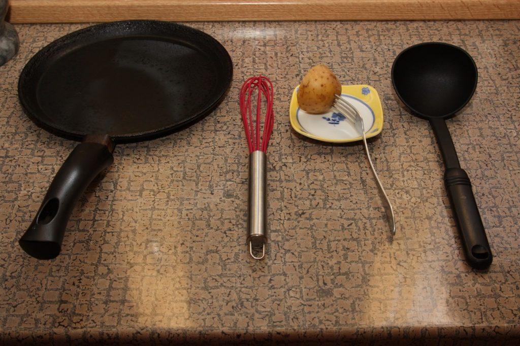 Rice pancakes recipe - 04